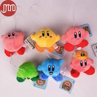 baby kirby - 6pcs Set New Kirby Plush Doll Toys cm Kirby soft stuffed pendant For Baby Best Gifts