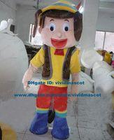 adult pinocchio costume - Elvish Flesh Pink Pinocchio Pinnochio Pinocchelloo Mascot Costume Cartoon Character Mascotte Adult Blue Shoes Red Pants ZZ986 FS