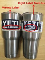 Wholesale with LOGO YETI ozMug Rambler Vacuum Insulated Tumbler Yeti Cooler Mugs with Original Labels Insulated Colorful Stainless Steel