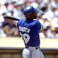 Wholesale JOE CARTER Toronto Blue Jays Majestic Throwback Baseball Jersey