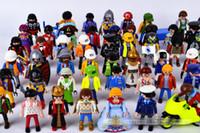 Las figuras de acción de Playmobil del envío los 7.5cm libres juegan a los pequeños bloques huecos E1736 del modelo de la gente del niño del castillo
