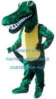 alligator mascot costume - Gator Mascot Costume Fancy Dress Adult Size Animal Crocodile Alligator Carnival Cosply Costume SW485