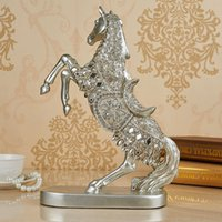 Wholesale The horse art European household act the role ofing is tasted furnishing articles ornament The sitting room decoration lucky handicraft