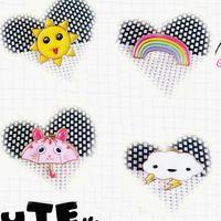 asian sun umbrella - X083 Cute Umbrella Sun Cloud Rainbow Alloy Brooch Pins Fashion Jewelry Nice Gift