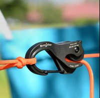 aluminum casting equipment - Cast aluminum cajal hang rope hook Pull on the rope clasps self locking becket Tight rope outdoor equipment