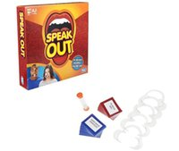 Wholesale Speak Out Game KTV party Game Christmas Toy Game cards the newest and best selling toy