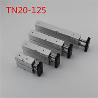 Wholesale TN20x125 mm x mm Double Rod Aluminum Alloy Pneumatic Air Cylinder