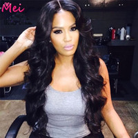 Wholesale Fast Delivery Brazilian Body Wave Full Lace Human Hair Wigs With Bangs Density Front Lace Wigs For Black Women A Wig