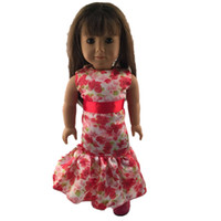 Wholesale Christmas Gift Inch Doll Clothes American Girl Dolls Clothing Dress Dolls Accessories