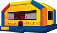 Wholesale 2016 new design inflatable jumping castle inflatable bouncy castle inflatable bouncer for sale with high quality