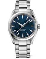 aqua mens watch - Luxury AAA Top Quality Mens Christmas Gift Aqua Terra Blue Dial Steel Men s Automatic Men s Watches Wrist Watches