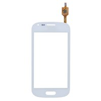 For Samsung LCD Screen Panels White 100% Guarantee touch screen digitizer for Samsung S7562 S7560 Galaxy Trend Duos touch screen white free shipping