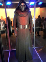adult jedi costume - Star Wars The Force Awakens Kylo Ren Adult Uniform Black Cloak Coat Moive Jedi Halloween Cosplay Costumes For Men Women sexy