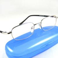 Wholesale Fashion Reading Glasses Eyeglasses Frames Men Eyewear Women Sillvery Presbyopia hyperopia distance Vision0