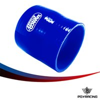 Wholesale PQY RACING BLUE quot quot mm mm SILICONE HOSE STRAIGHT REDUCER JOINER COUPLING PQY SH0275030BL