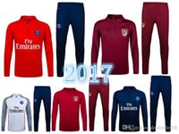 Wholesale 2016 Paris Atletico urvetement football training soccer clothes football uniforms chandal jogging tights