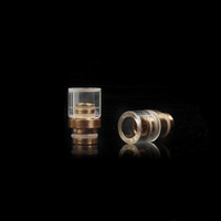 brass fitting - Best Glass Drip Tip Glass Brass and Glass Copper Drip Tip for Mouthpiece Fit Protank RDA Atomizers