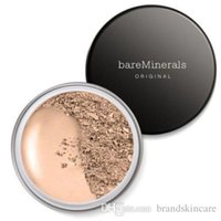 Wholesale Bare Minerals New Loose Powder BareMinerals Original Sunscreen Spf Foundation g bare makeup Minerals blush bronzer vintage carnation