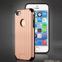 armor carrier - Luggage Armor Hybrid Hard PC Soft TPU Case for iPhone samsung s7 cases Suitcase Carrier Slim Phone Cover Skin
