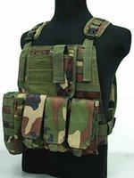 Wholesale Professional sales USMC Airsoft Tactical Military Molle Combat Assault Plate Carrier Vest Tactical vest