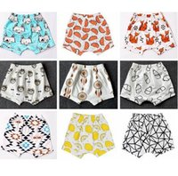 bee trouser - 26 Style Baby toddler boys girls iINS pants Leggings Bee Panda Zoo embroidered Sabrina pant Cropped Trousers boys Harem Short Shorts