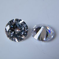 Wholesale 2016 Hot Sale Shining Round Brilliant Cut White Cubic Zirconia Synthetic Diamond For Jewelry Making Per