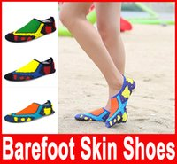 aqua beach shoes - Summer NEW Swimming Light Aqua Shoes Water Shoes Barefoot Aerobic Vacance Multi Socks QuickDrying Slip On Skin Soft beach shoes Shoes