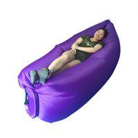 Wholesale lamzac hangout new for outdoor camping beach sleeping bag air sofa factory laybag