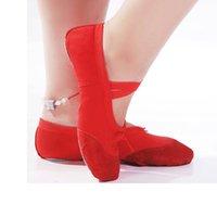 Wholesale Classic Design Size cm Children Soft Sole Girls Ballet Shoes Women Ballet Dance Shoes For Kids Adult Ladies