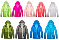 Wholesale HOT Color Skin Jacket Unisex Super Lightweight Jacket Quick Dry Windproof Skin Coat Sun Protection