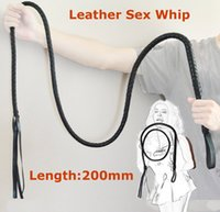 adult woman long costume - 200cm Long Leather Sex Spanking Whip Adult male female slave queen costume roleplay game flirt fetish toys for women men couples