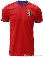 Wholesale AAA DHL futebol survetement CA Osasuna soccer Jersey home red Jersey shirts maillot de foot camisa de