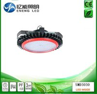 Wholesale HDL high quality UFO W led high bay light warehouse lamp high LM W with lumlbus led AC100 V