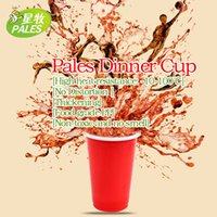 beers usa - Cup USA Personalized Cups plastic thickening Disposable Cups Party Beer Cups set ml OZ Red