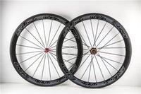 Wholesale 50mm full T1000 carbon wheelset k carbon road bike wheelset clincher light chinese carbon wheels