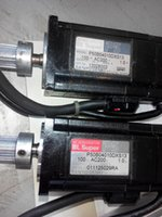 ac motor test - Used Sanyo Denki P5 AC Servo motor P50B04010DXS13 Good condition Test Working Stock As photos show