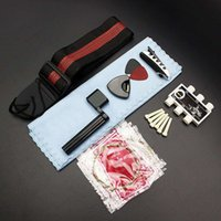 acoustic guitars kits - Hot Sale in Acoustic Guitar String Set Pitch Pipe Tuner Picks Plectrum Case Strap Capo Pin Peg String Accessories Kit