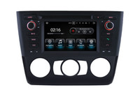 Wholesale Quad core Android Car DVD GPS Navigation for bmw series e81 e82 e88 Touch Screen mirro link Central Multimedia