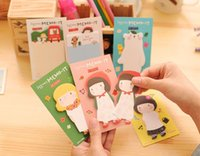 Wholesale 2015 cartoon post it sticky notes stickers kawaii paper notes notepad animal stationery for students office home supplier Scrapbook B042