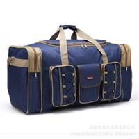 baseball trips - Women Travel Bags Large Capacity Girl Luggage Travel Duffle Shoulder Bags Canvas Handbag Folding Bag For Trip X294
