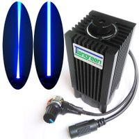 analog dimmer - High Power Laser Analog Knob Dimming Focusable mW W nm Blue Laser Module DC12V DIY Laser cnc engraving