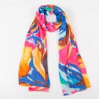 Wholesale 2016 women high quality silk scarf large size ladies shawl color optional