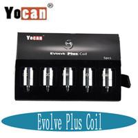 El yocan original del 100% evoluciona más la bobina de NYX del reemplazo de la bobina Cabeza de la bobina de la cerámica de la bobina seca de las bobinas de la cera para evolve más DHL libre