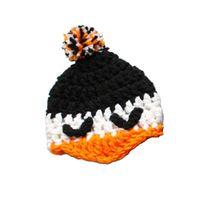 baby penguin photos - Novelty Baby Penguin Pompom Hat Handmade Crochet Baby Boy Girl Animal Hat Kids Halloween Costume Baby Shower Gift Infant Toddler Photo Prop