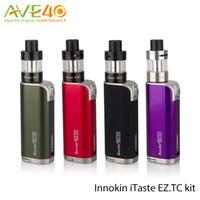 Cheap Original Innokin EZ TC kit Internal 1500 mAh ecigarette battery with 50w EZ TC vape Mod and Adjustable Dual Airflow iClear 20D Tank 2ml