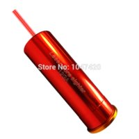 Wholesale 12GA laser gauge cartridge red bore sighter boresighter copper hunting accessories sight worldwide