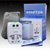 Wholesale Travel universal wall charger power adapter for plug Surge Protector Universal International Travel Power Adapter Plug US UK EU AU AC Plug