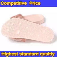 Wholesale Send With Original Boxes Leadcat Fenty Rihanna Shoes Women Slippers Indoor Sandals Girls Fashion Scuffs Pink Black White DHL Fre forcity