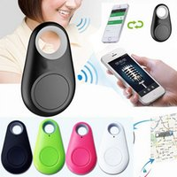 Wholesale ITAG Wireless Bluetooth Pet Children Intelligent Tracker Child Tracer iTag Smart Key Finder Bluetooth Keyfinder Pet Dog Tracker Selfie