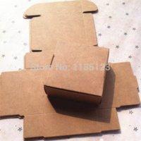 Wholesale 7 cm Mini Kraft Paper Cake Box Gift Bakery Cookie Favor Cupcake Chocolate Packaging Box Christmas Wedding